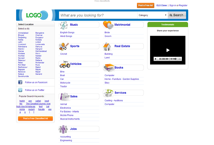 OLX Clone Nulled – nulledscriptsvd